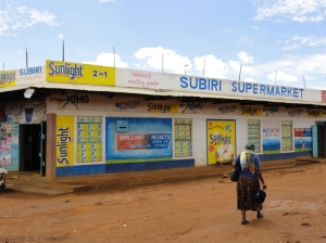 Kiminini, Kenya Supermarket
