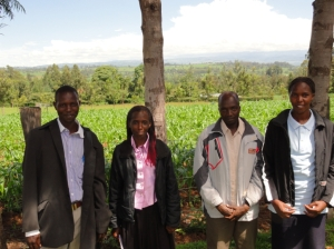 Kenyan interview team