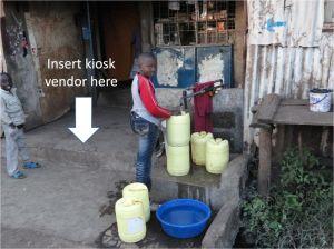 Kibera Kiosk Vendor