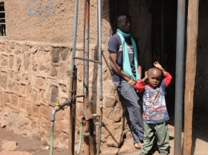 Kibera Water Vendor