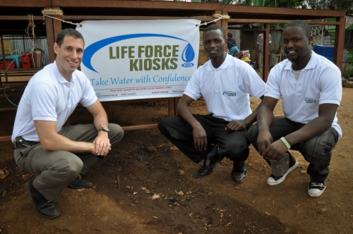 Life Force Kiosks Team
