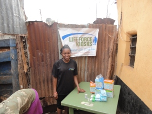 Life Force Kiosks water vendor